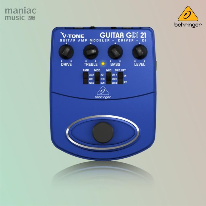 harga Behringer gdi-21 (guitar amp modeler di box pedal efek stompbox) Tokopedia.com