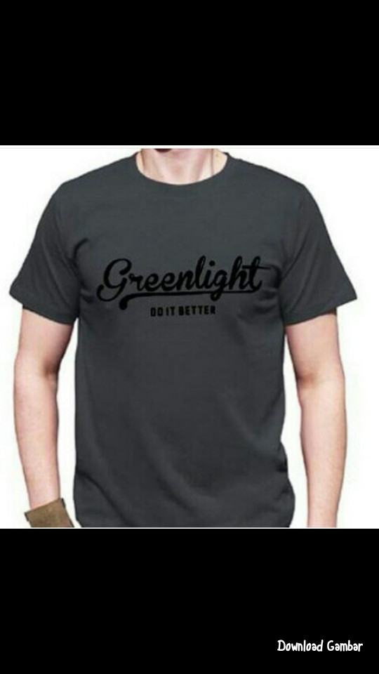 T-shirt / kaos / baju / kaos GreenLight