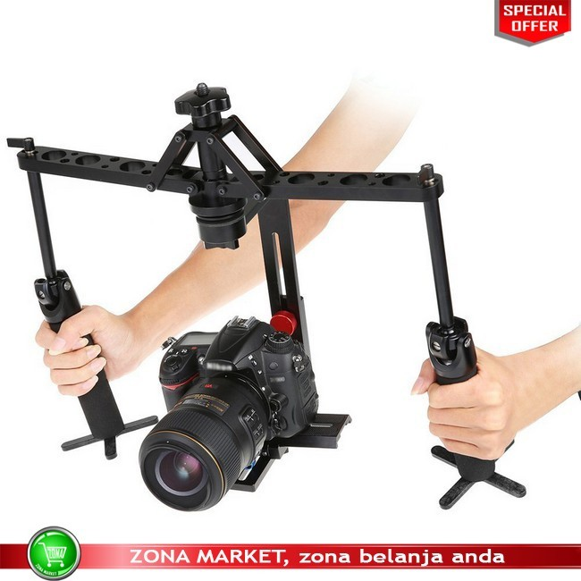 harga Handheld stabilizer camera rig gimbal 2-axis for dslr canon nikon sony Tokopedia.com