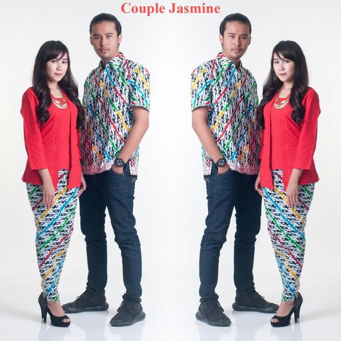 harga Batik couple setelan panjang/seragam/kantor Tokopedia.com
