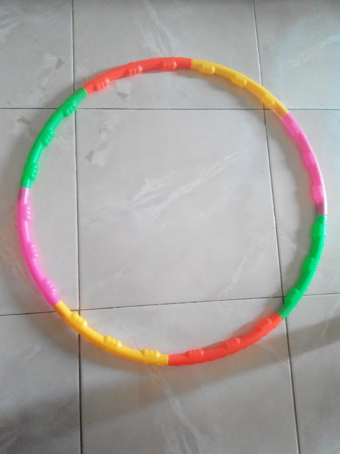 harga Hula hoop anak / mainan hulahoop / hulahop edukatif / edukasi Tokopedia.com