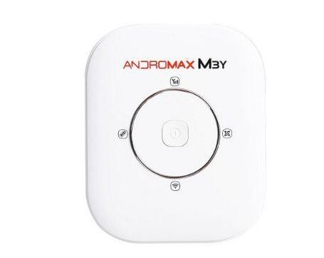 Smartfren Andromax Mifi M3Y 4G LTE Hitam Putih Bonus Kuota 30GB Modem