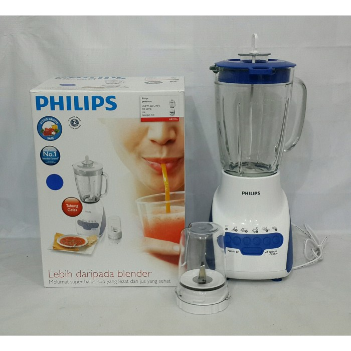 harga Philips blender gelas kaca hr2116 original Tokopedia.com
