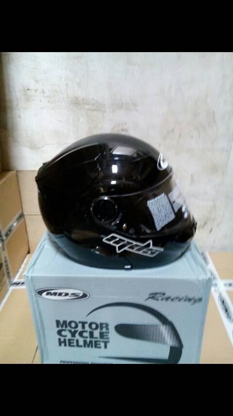 harga Helm mds prorider black flip modular fullface full hitam visor Tokopedia.com