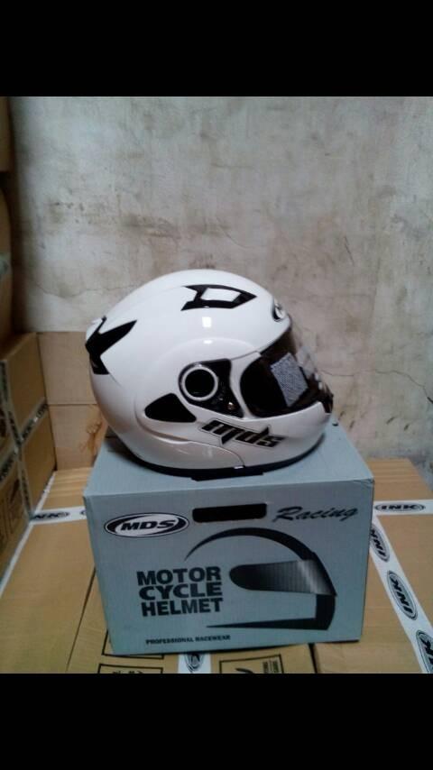 harga Helm mds prorider white flip modular fullface full putih visor Tokopedia.com