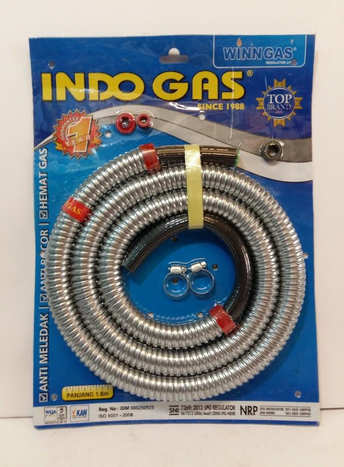 harga Selang gas indo gas Tokopedia.com