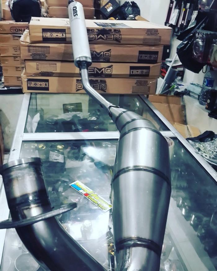 harga Knalpot dbs jigsaw original thailand leheran l ninja 150 rr/r Tokopedia.com