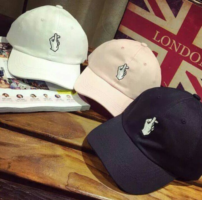 Jual applause tumblr baseball cap topi hat custom icon korea import ... 60f5cad1e0
