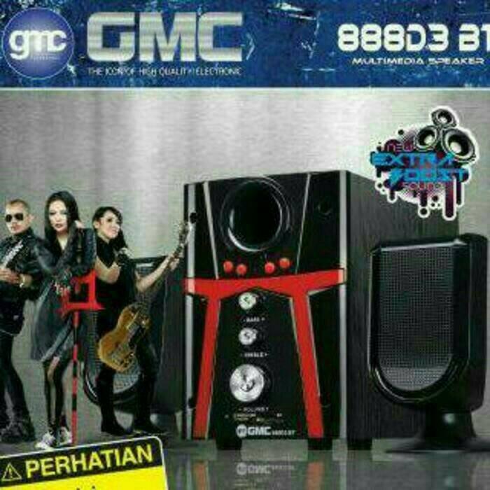 harga Speaker gmc 888d3 bluetooth Tokopedia.com