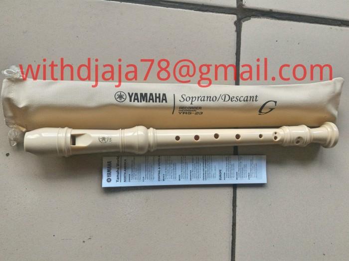 Recorder Suling Yamaha YRS-23 Putih Murah Dan Bagus