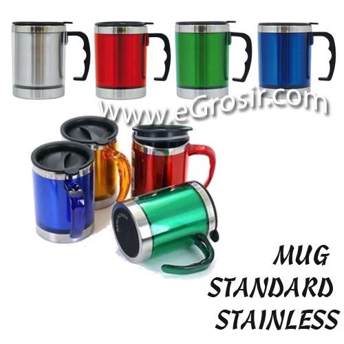 harga Mug stainless standar - insert paper tumbler Tokopedia.com
