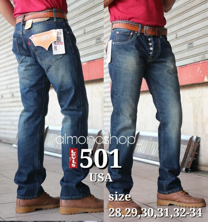 harga Celana jeans levis 501 original garmen scraf cakar / impor usa Tokopedia.com