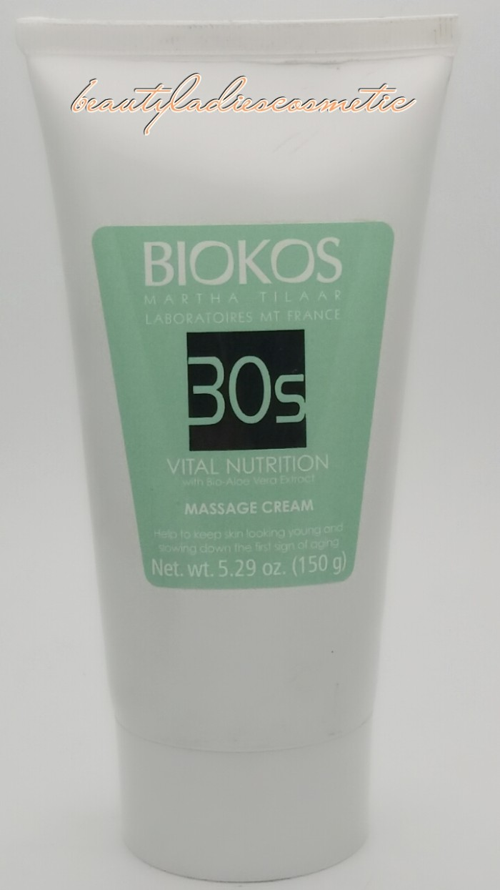 harga Biokos vital nutrition 30s massage cream 150 gr Tokopedia.com