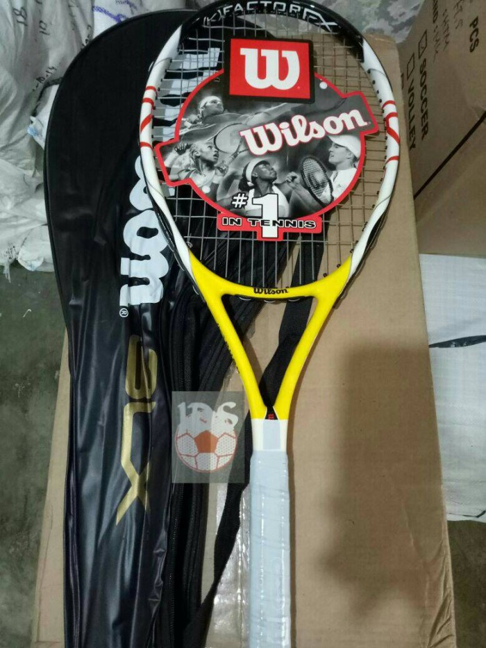 Raket tenis wilson blx kuning (free senar dan grip)