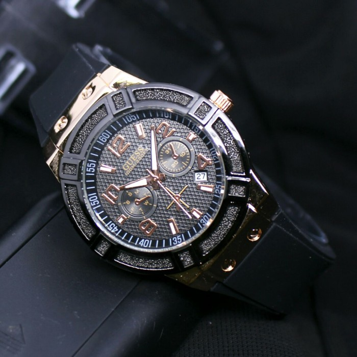 harga Jam tangan wanita remaja cewek guess rubber bulat super Tokopedia.com