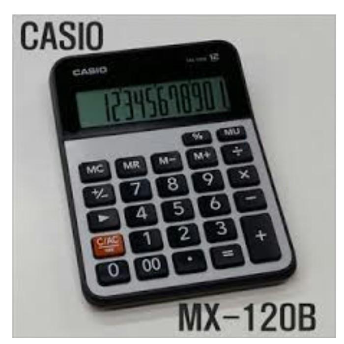 Kalkulator casio mx-120b - calculator desktop/portable