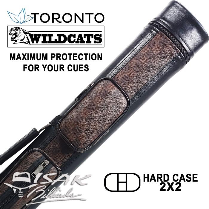 harga Toronto wildcats 2x2 case 34 - tas stick hard cue billiard biliar 2b2s Tokopedia.com