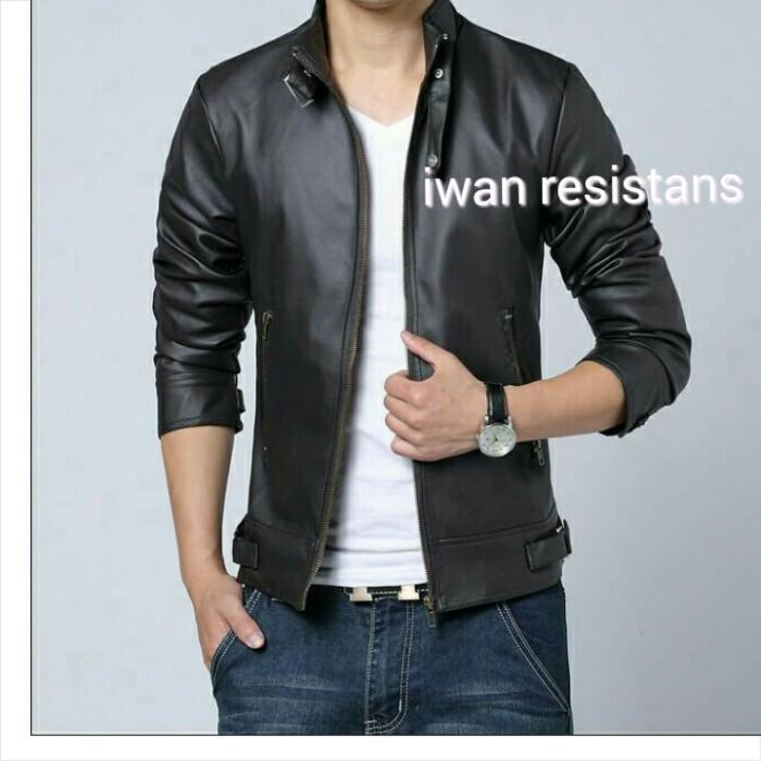 harga Jaket sintetis,jaket kulit motor,jaket pria,jaket kulit asli garut Tokopedia.com