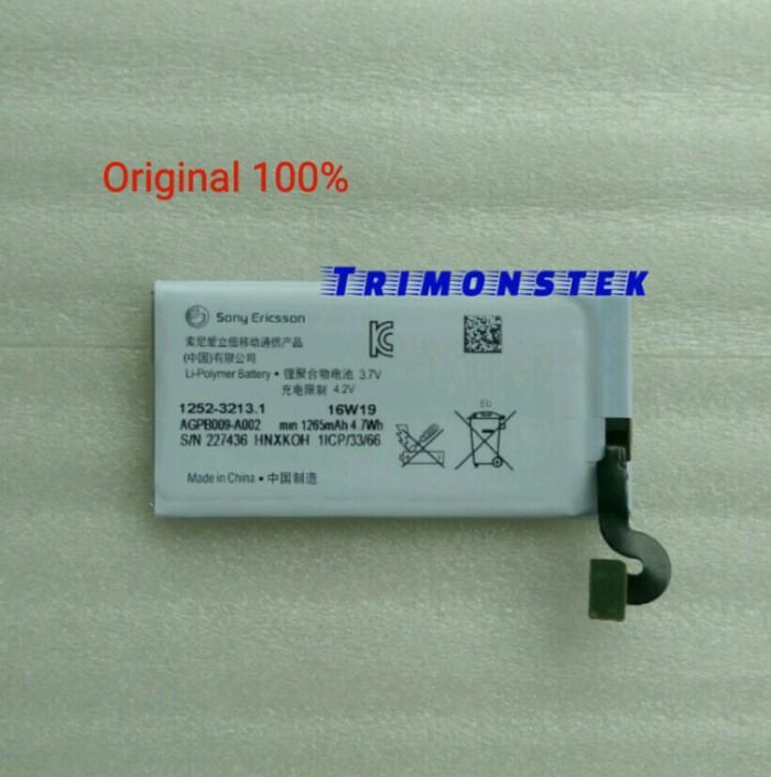 harga Baterai battery sony mt27 for xperia sola original 100% Tokopedia.com