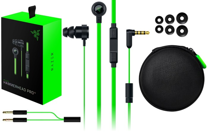 jual razer hammerhead pro v2 dota2 earphone gaming hammerhead ovila koala tokopedia. Black Bedroom Furniture Sets. Home Design Ideas