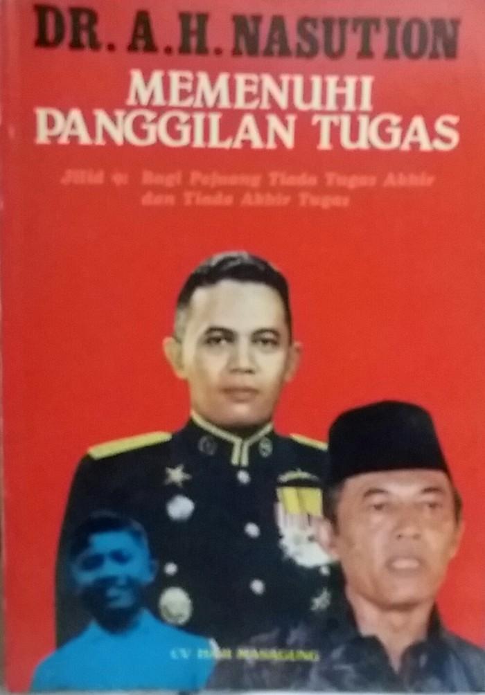 harga Dr. a.h. nasution memenuhi panggilan tugas jilid 9 (buku lawas) Tokopedia.com