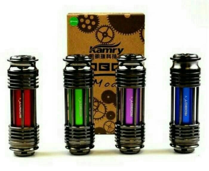 Foto Produk Kamry Robot 5/Robot V Mechanical Mod Fullset Atomizer dari hanum ol shop