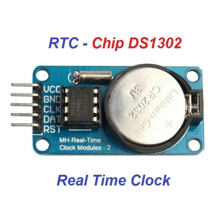 Foto Produk DS1302 module real time clock RTC DS 1302 modul pencacah waktu arduino dari LED HOUSE