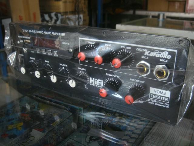 harga Kit amplifier 2.1 high power subwoofer dms5500 out subwoofer + karaoke Tokopedia.com