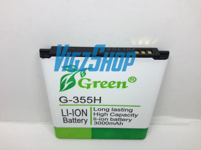 Baterai samsung galaxy core 2 g355, samsung galaxy beam i8530 green