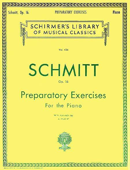 harga Buku piano -  schmitt op.16 (preparatory exercises fot the piano) Tokopedia.com