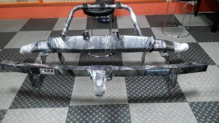 harga Overland front bumper + towing bar arb for fortuner 2005 - 2015 Tokopedia.com