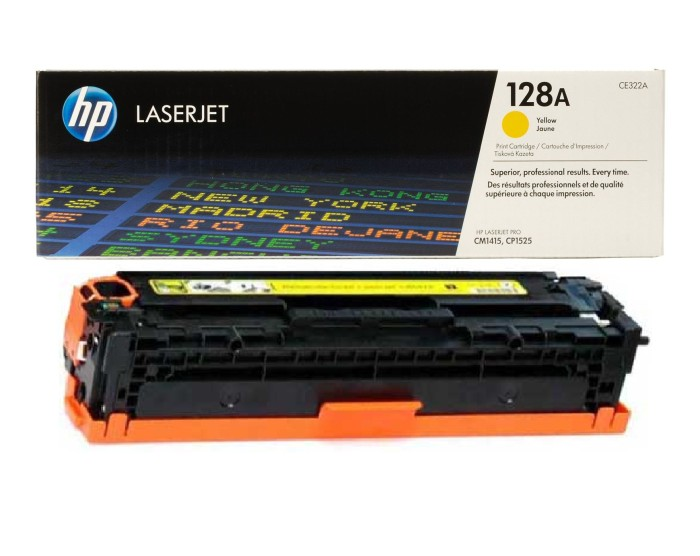 harga Toner hp laserjet yellow 128a [ce322a] Tokopedia.com