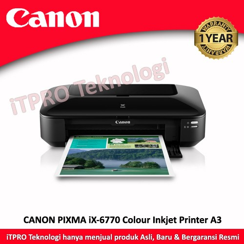 harga Printer canon ix6770 a3 inkjet Tokopedia.com