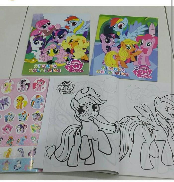 Jual Buku Mewarnai Stiker My Little Pony Dki Jakarta