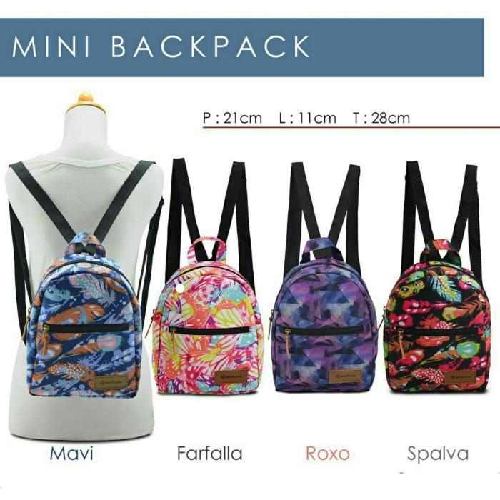 Tas ransel lucu tas ransel hangout mini backpack araluse tas remaja