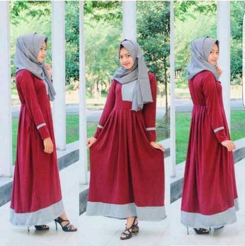 Jual Nasywa Dress Koleksi Baju Gamis Atasan Wanita