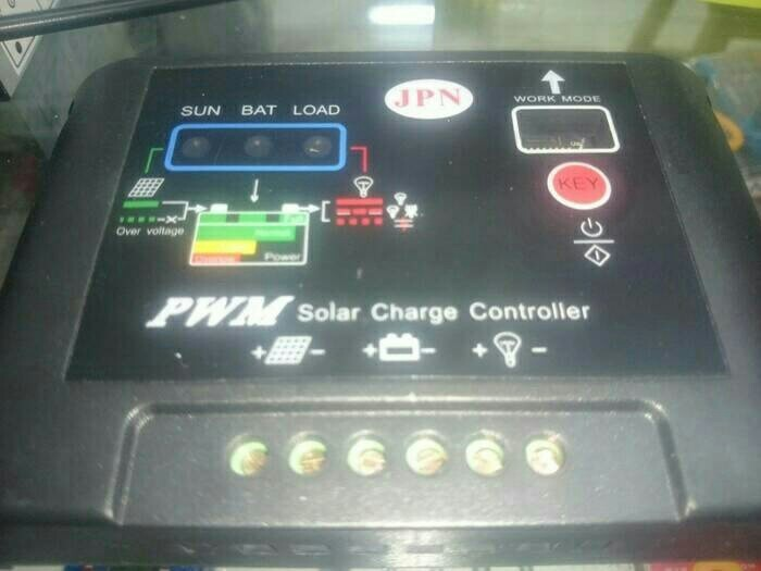 harga Jpn - solar panel hb 12/24 volt - 20 amper (best quality
