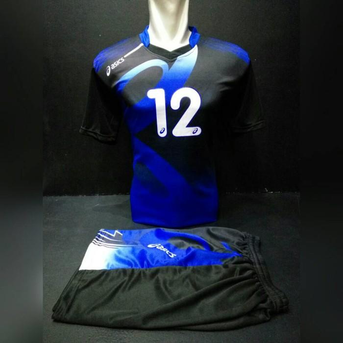 Jual Kaos Setelan Tim Set Volley Asics  AC01 Black - c0wsSport ... c476b85d44