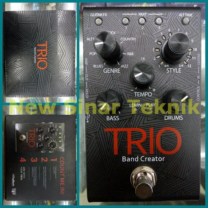 harga Digitech trio band creator stompbox / pedal looper - 100% original Tokopedia.com