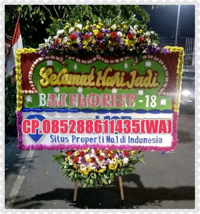 Jual Bunga Papan Ucapan Selamat Hari Jadi Jakarta Pusat Popo Shop Online Tokopedia