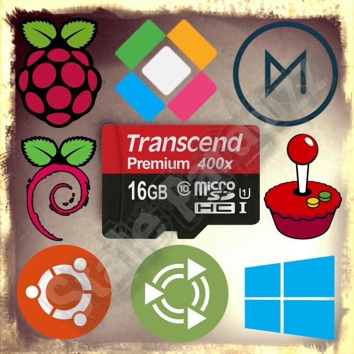 harga Transcend premium 400x 16gb (raspberry pi multios) Tokopedia.com