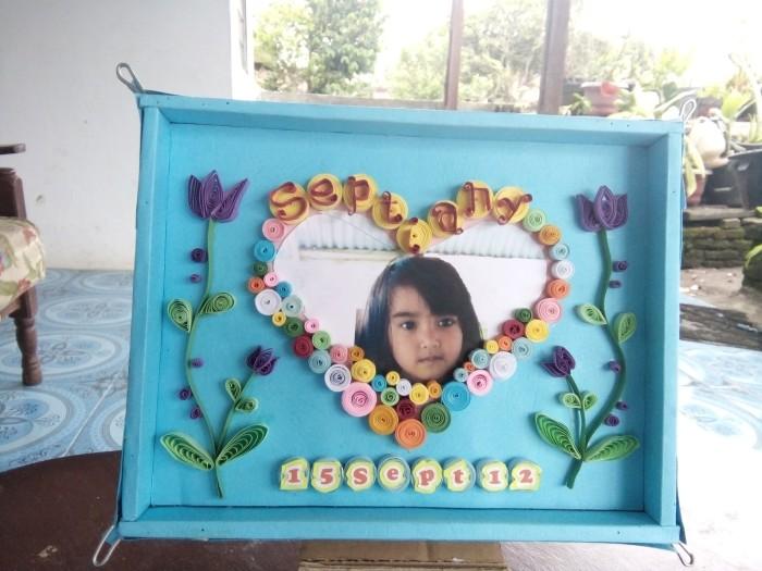 Jual Birthday Gift Bingkai 3d Quilling Art Chel Quilling Art