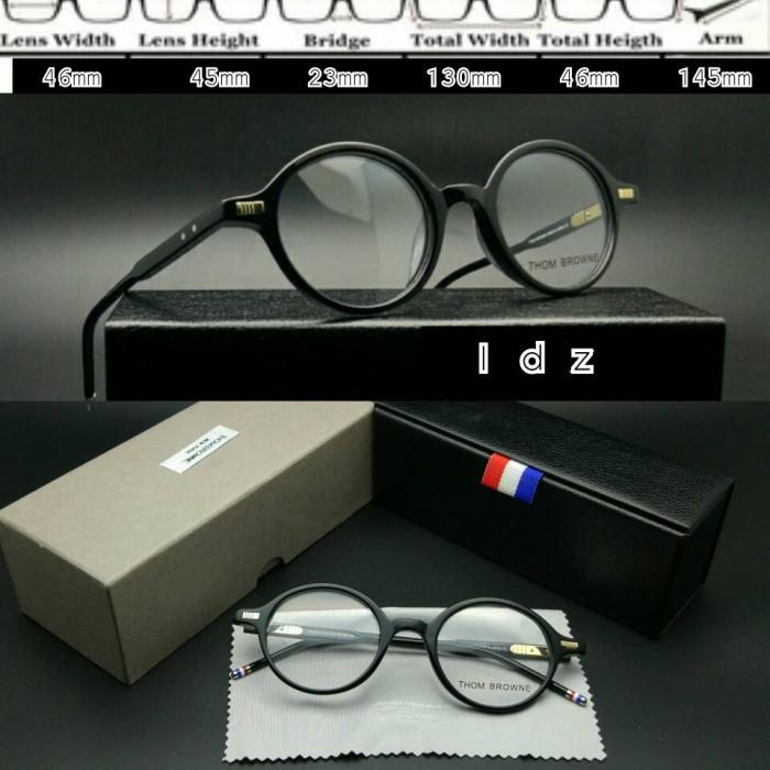Frame kacamata frame minus kacamata premium thombrowne 407 hitam c99c292852