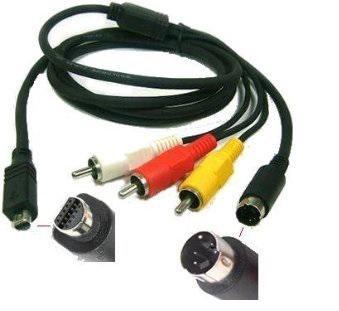 USB PC Cable Cord Lead For Sony Handycam DCR-SR67 DCR-SR60 DCR-SR58 DCR-SR47 e