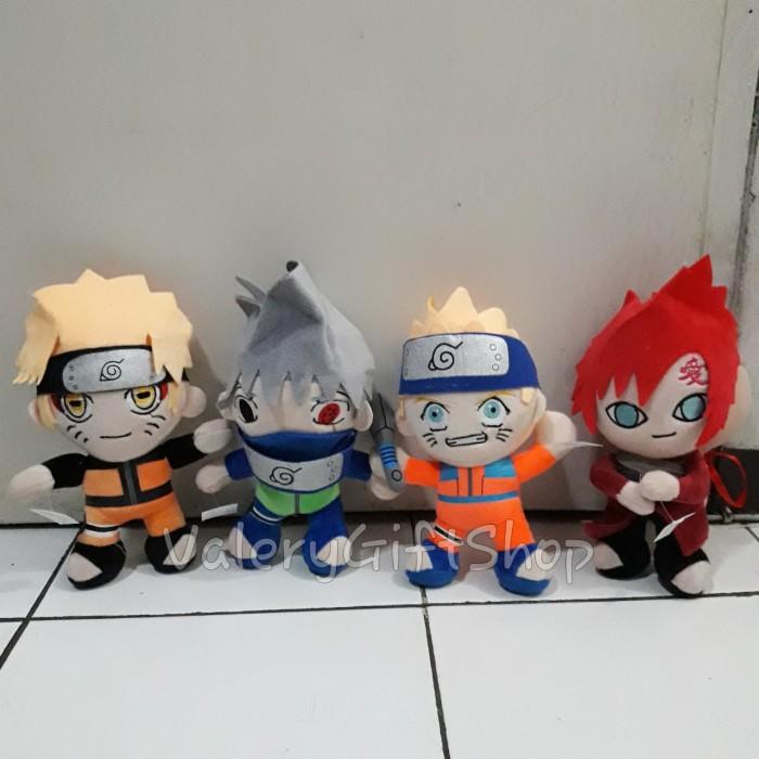 harga Boneka kartun anak naruto garu sasuke 1 set Tokopedia.com