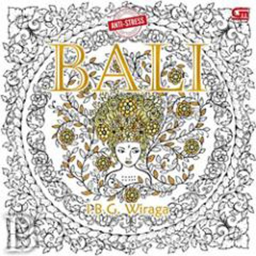 Anti Stress Coloring Book For Adults Bali