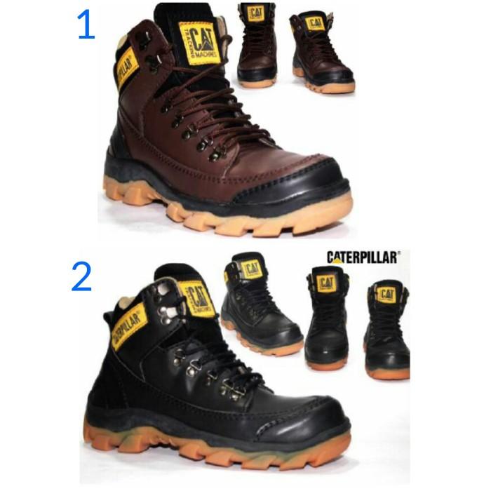 Jual sepatu caterpillar MBC boots safety sepatu kerja pria tracking ... cb9e35a844