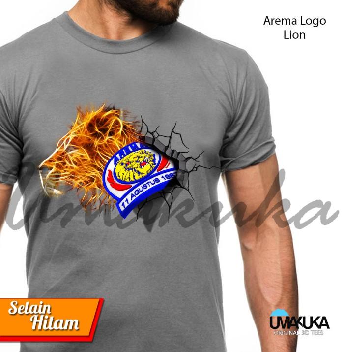 Jual Kaos 3d Umakuka Arema Logo Singa Tokopedia Gambar