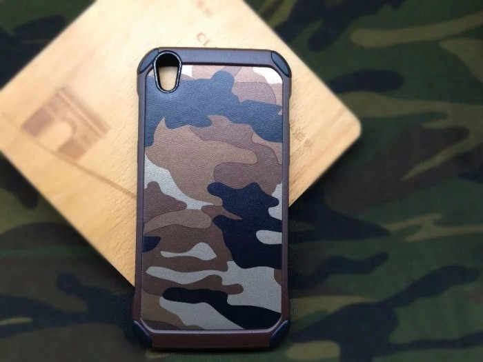 Hard Case Army OPPO F1 Plus + R9 Soft Thin Silikon Mirror Ipaky Gundam
