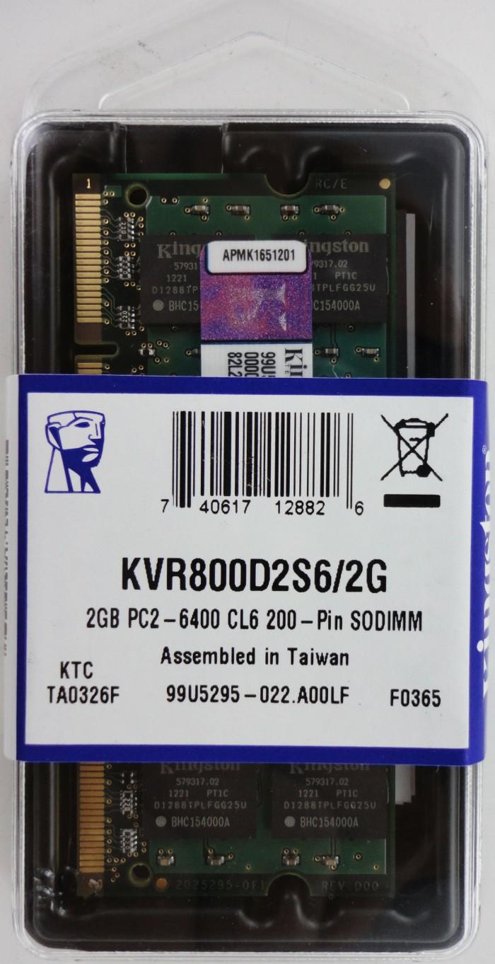 Jual Memory Sodimm Ddr2 2gb Pc6400 Kingston Astek Tokopedia Ram Laptop